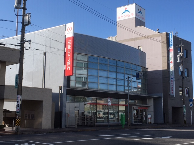2020.5月UFJ松阪外観